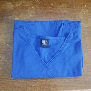 Blue Medgear Scrub Top XS BUNDLE to SAVE 5/$45!